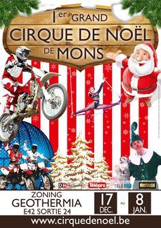 Voor het eerst dit jaar een Groot Kerstcircus in Mons