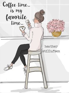 Coffee Art- Gifts for Coffee Lovers – Quotes – Art for Women – Quotes for Women -Coffee- Art for Women – Inspirational Art - Famous Last Words I Love Coffee, Coffee Art, Coffee Time, Coffee Cups, Coffee Signs, Coffee Break, Hot Coffee, Happy Coffee, Coffee Drawing