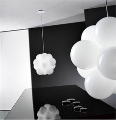 Modern Glass Ceiling Lamp