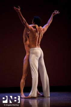 PNB principal dancer Karel Cruz in Christopher Wheeldon's After the Rain.
