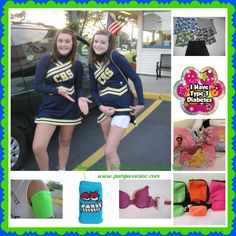 Many different ways to wear your insulin pump, along with cool fun accessories and clothing http://www.pumpwearinc.com/pumpshop/