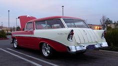Bel Air Car, Chevy Apache, Chevy Nomad, Fancy Cars, Hot Rod Trucks, Chevrolet Bel Air, American Muscle Cars, Station Wagon, Old Cars