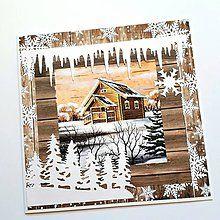 Papiernictvo - Vianočná pohľadnica - 8503905_