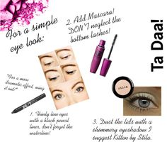 """""""Eye Makeup!"""" by mia-levings ❤ liked on Polyvore"""
