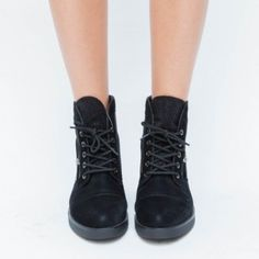 Ghete Otto Negre Combat Boots, Shoes, Fashion, Moda, Zapatos, Shoes Outlet, Fashion Styles, Shoe, Footwear