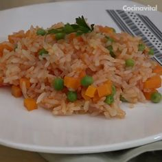The Best Organic Rice Pilaf Recipe That I Have Ever Made! - Whole Lifestyle Nutrition Authentic Mexican Recipes, Mexican Food Recipes, Ethnic Recipes, Healthy Dinners For Two, Easy Healthy Breakfast, East Dessert Recipes, Easy Dinner Recipes, Healthy Crockpot Recipes, Cooking Recipes
