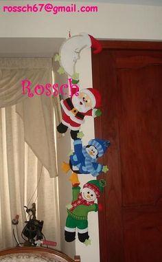 hang on fellas Elf Christmas Decorations, Christmas Crafts To Make, Dollar Store Christmas, Christmas Makes, Simple Christmas, All Things Christmas, Holiday Crafts, Felt Christmas Stockings, Felt Christmas Ornaments
