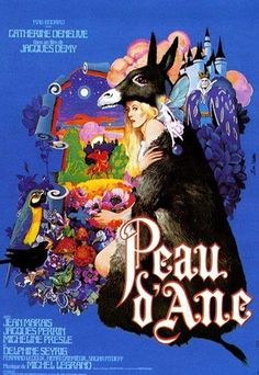 PEAU D'ÂNE – 1970 - de Jacques Demy. Belle copie 35mm!
