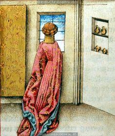 Trojanischer Krieg: Medea   Dieses Bild: 006361    Dokumentation: 1445 ; 1450 ; Wien ; Österreich ; Wien ; Österreichische Nationalbibliothek ; cod. 2773 ; fol. 16r