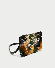 d04f02844ba26 ZARA - WOMAN - SEQUINNED BELT BAG CLUTCH Damast