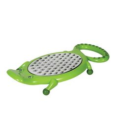 Take a look at this Gator Cheese Grater  by Animal House by Boston Warehouse on #zulily today!