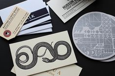 Snake business cards for our friends at saipua sesameletterpress custom letterpress printing for designers send us your files and well expertly print your business cards notecards coasters and more reheart Images