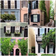 Pastel Pretty - Where to Go in Charleston, South Carolina - Lonny . . . It's easy to channel inspiration from a colorful street known as Rainbow Row. Here, 13 antebellum townhouses present a soothing palette and the kind of Old-World details we'd be happy to bring home.