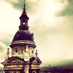 dome #architecture in #budapest #hungary