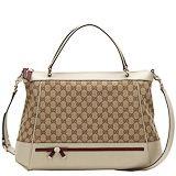 Gucci mayfair large top handle bag
