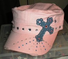 My favorite and latest crafty creation! I cannot wait to wear it with my jeans!!! ~ Made by Christi T