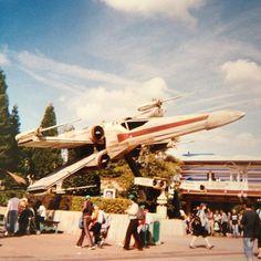 Star Wars X-Wing Fighter at Disneyland Paris