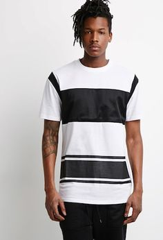 Mesh Paneled Colorblock Tee - that should be mine!