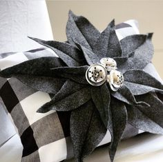 Buffalo check decor ideas are perfect all year-round, but especially look amazing for a black and white buffalo check Christmas or fall. Mary Christmas, Black Christmas, Christmas Crafts, Christmas Decorations, Christmas 2017, Christmas Ideas, Christmas Tree, Buffalo Check Christmas Decor, Black And White Cushions
