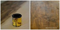 staining butcher block kitchen counter top for dresser