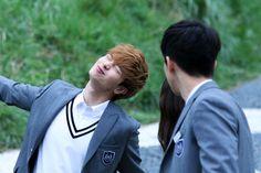 [단독 영상] '후아유-학교2015' 김소현-남주혁-육성재, 행복한 포스터 촬영 현장