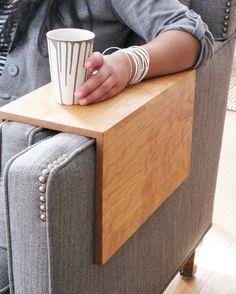 The Original Couch Arm Wrap SOLID WOOD von BlisscraftandBrazen