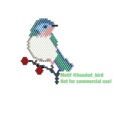 This Pin was discovered by J B Peyote Patterns, Beading Patterns, Stitch Patterns, Miyuki Beads, Seed Bead Art, Beaded Banners, Cross Stitch Bird, Bracelet Crafts, Beaded Jewelry Patterns
