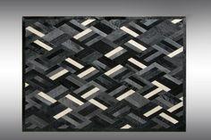 Уникальные ковры из коровьей шкуры от Kyle Bunting