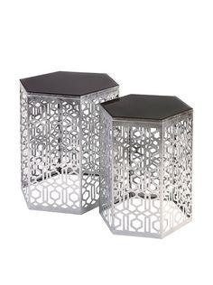 Set of 2 Nikki Chu Lancaster Silver Mirror Tables, http://www.myhabit.com/redirect/ref=qd_sw_dp_pi_li?url=http%3A%2F%2Fwww.myhabit.com%2Fdp%2FB00PQ2QQ0K Available in gold