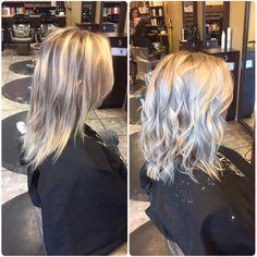 Turned a foil into a #icy #balayage #hairbykarleeann #ellemariekarlee #ellemarielakestevens #askforformula
