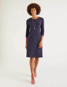 Bleu Royal Boden Stretch Body avec robe 6