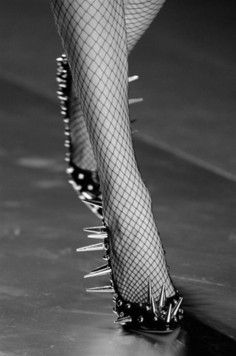 spikes  +fishnets