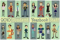 student yearbook layout design 43