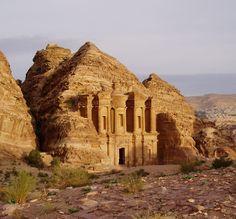 The Monastery, Petra, Jordan----i def peed right around where this pic was taken