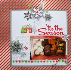 'Tis the Season by Kathy Martin for #Doodlebug using the Home for the Holidays collection.