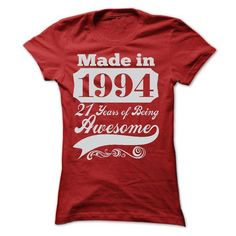 MADE IN 1994 ST5 T Shirts, Hoodies. Get it now ==► https://www.sunfrog.com/LifeStyle/MADE-IN-1994--ST5-Ladies.html?57074 $22.9