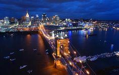 Cincinnati, OH - my hometown for a good 16 years.