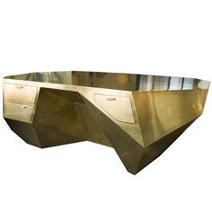 Brass Popova Desk