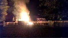 Well's new 150k park destroyed in 'suspicious' Bonfire Night blaze