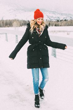 Dash of Darling | Winter Outfit in Jackson Hole, Wyoming
