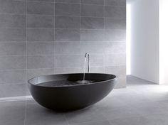 Inspired by an Egg's Perfect Shape : VOV Bathtub by Mastella Design   Freshome