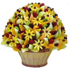 Fruit bouquet, full and so cute