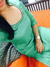 A Fashion Update: Different Types New Neck Designs Silk Kurti Designs, Salwar Neck Designs, Kurta Neck Design, Kurta Designs Women, Kurti Designs Party Wear, Chudidhar Designs, Chudidhar Neck Designs, Dress Neck Designs, Blouse Designs