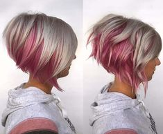New Bob Haircuts 2019 & Bob Hairstyles 25 Bob Hair Trends for Women - Hairstyles Trends Stylish Short Haircuts, Short Haircuts Women, Stacked Bob Hairstyles, 2015 Hairstyles, Layered Haircuts, Celebrity Hairstyles, Wedding Hairstyles, Looks Chic, Great Hair