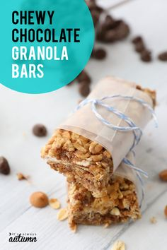 French Delicacies Essentials - Some Uncomplicated Strategies For Newbies Homemade Chewy Chocolate Granola Bars Are Amazing An Easy Snack Recipe You Can Put Together In 10 Minutes That Everyone Will Love Pastry Recipes, Sweets Recipes, Mexican Food Recipes, Snack Recipes, Appetizer Recipes, Authentic Mexican Desserts, Chocolate Granola, Chocolate Food, Butterscotch Chips