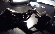 Iron motorbike model