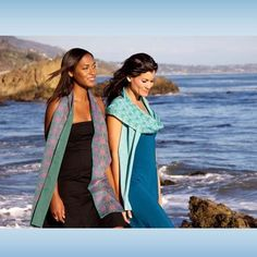Beau monde organics creates beautiful eco-friendly scarves made from organic cotton - Made in USA - http://beaumondeorganics.com/thai-dreams-karma-organic-scarf/