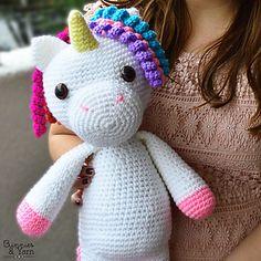 Ravelry: Mimi the Friendly Unicorn pattern by Michelle Alvarez