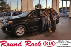https://flic.kr/p/BErBZ8 | Happy Anniversary to Rachelle on your #Kia #Sorento from Mohammed Ali at Round Rock Kia! | deliverymaxx.com/DealerReviews.aspx?DealerCode=K449