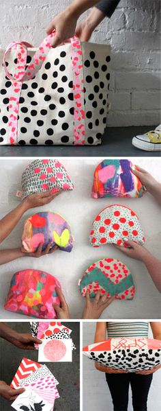 oh how very lovely: i am in love with: harvest textiles